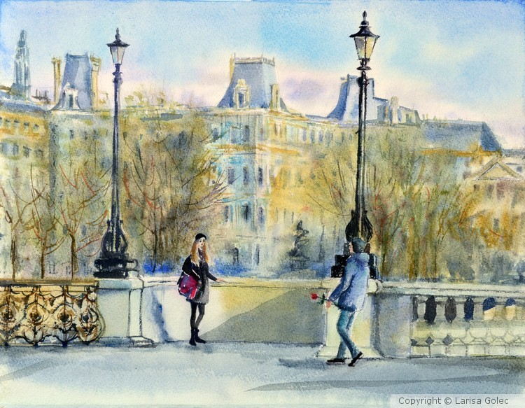 Couple in Paris