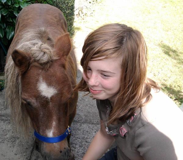 Hannah and Poppy