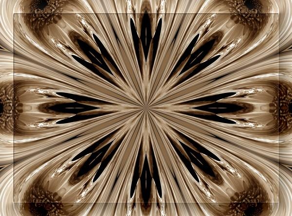 Autumn Toned Kaleidoscope (Two)