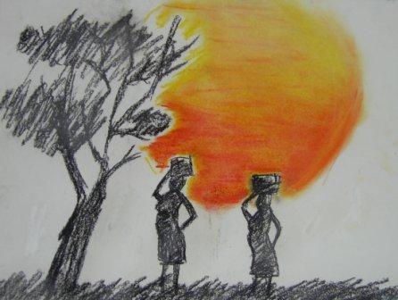 Africain shadows....