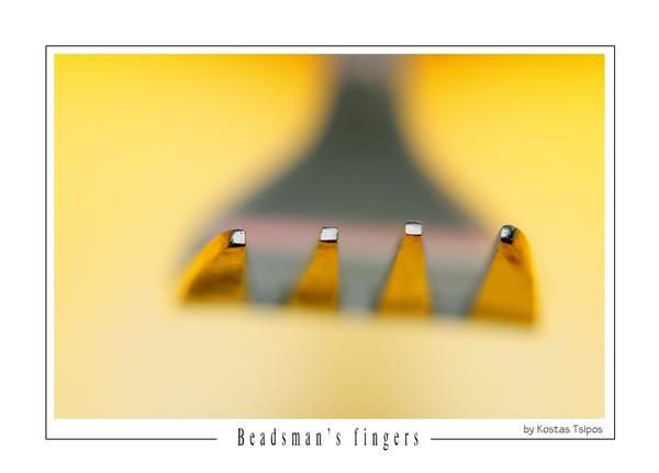Beadsmans fingers