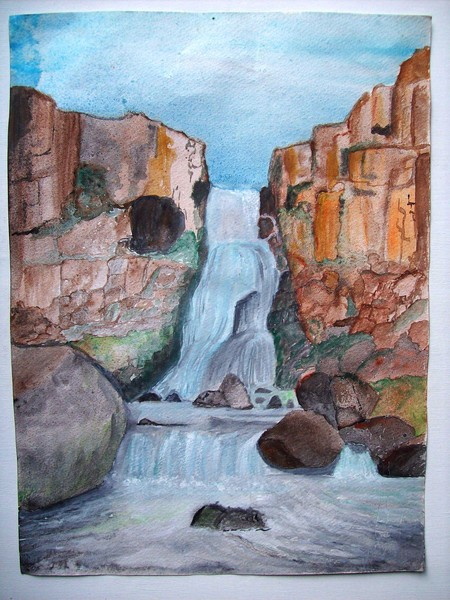 My first water color painting