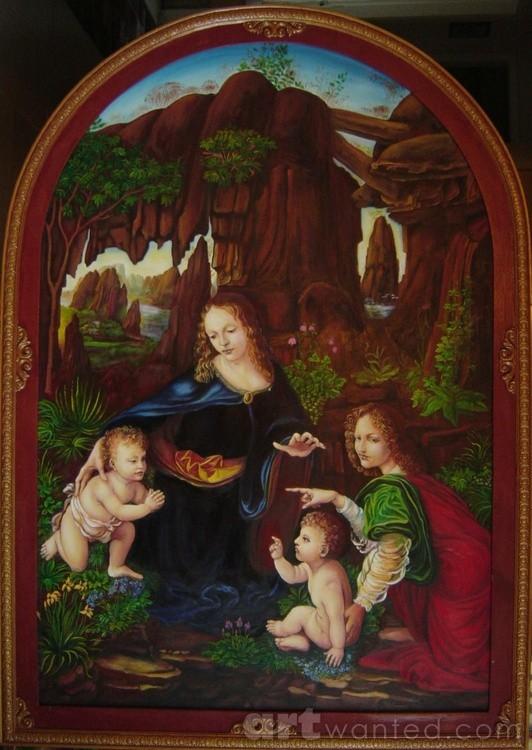 Renaissance study, Leonardo, 1992