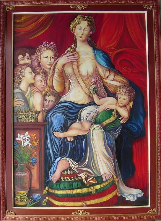 Renaissance study,Parmigiannino 1991