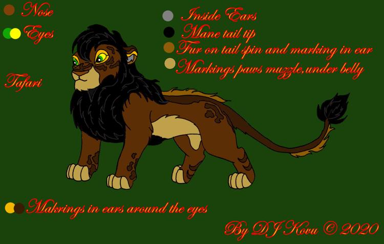 Fursona Tafari