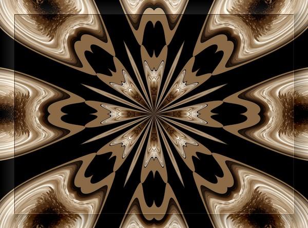 Autumn Toned Kaleidoscope (One)