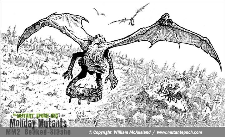 Monday-Mutants-The-Mutant-Epoch-RPG-Beaked-SLasho-winged-web
