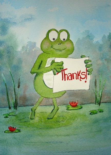Frog Series:  Thanks!