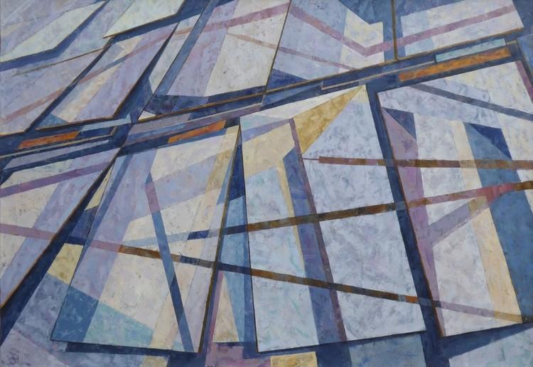 Glass Facade 85 x 122 cm