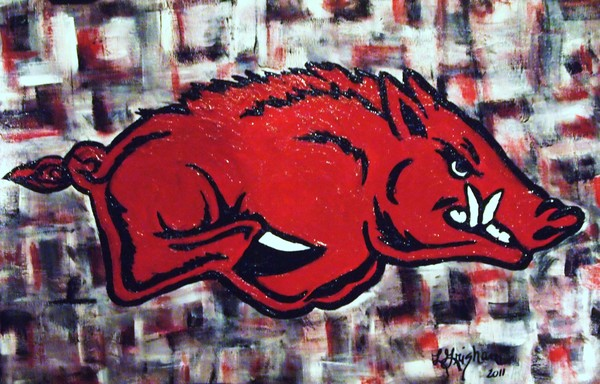 Razorback on Abstract2