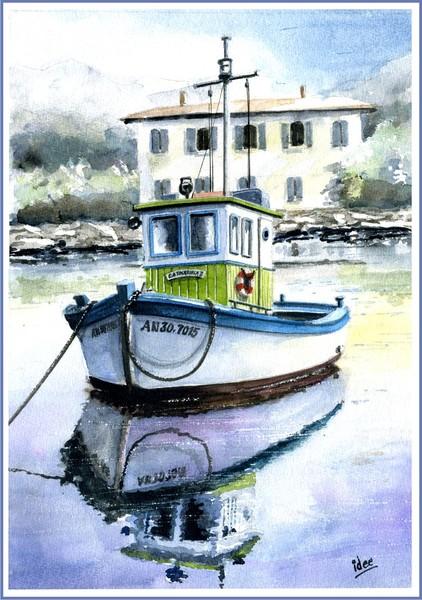 Local fishing-boat in Croatia