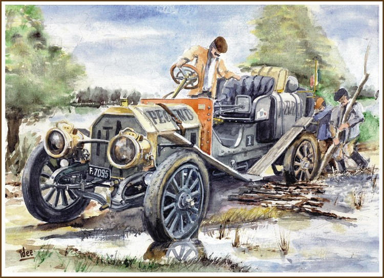 The Incredible Automobile Race of 1907 - 3