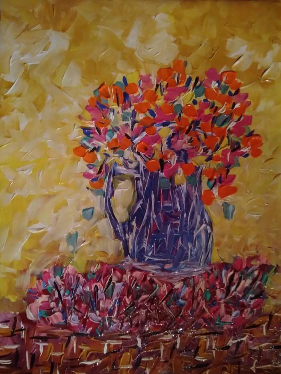 vaza cu flori