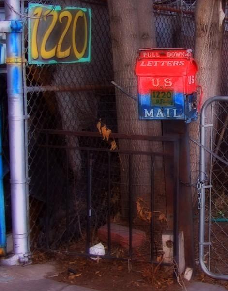 US Mail, Backyard #2