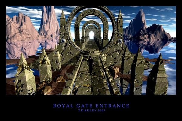 Royal Gate Entrance