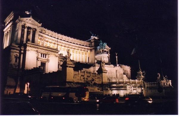 Victorio Emanuel at Night