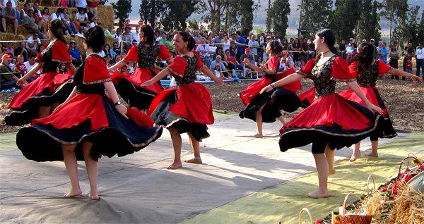 Seven Israeli Folk Dancers