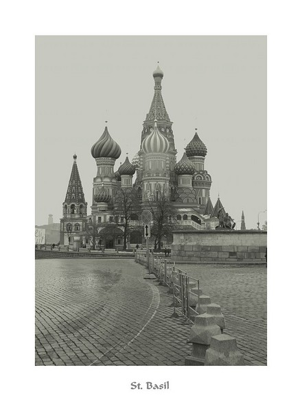 St Basil Cathedral. Moscow. Nov. 2006