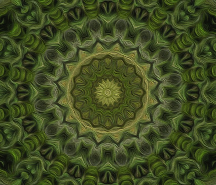 Painted Kaleidoscope 11