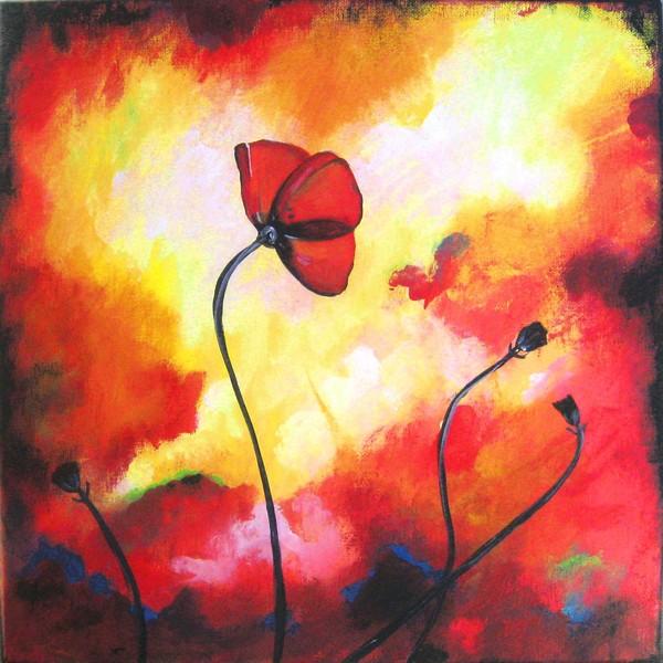 Poppy in Reds