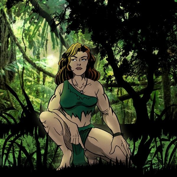 The Huntress in the Jungle
