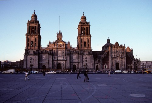 Cathedral and Zocalo of Mexico City, Mexico