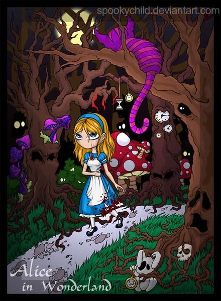 Haunting Wonderland