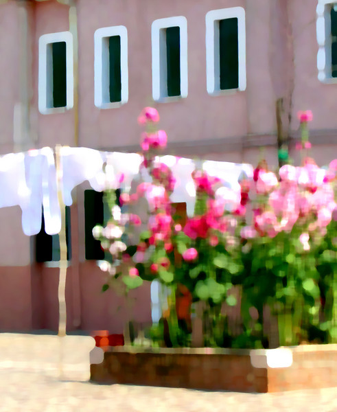 Burano, pink