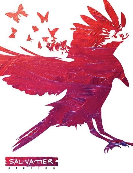 Ravens are never black promo poster