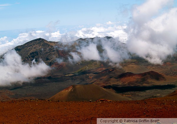 At The Rim of the Crater