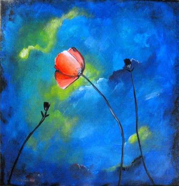 Poppy in Blues