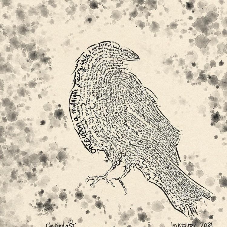 Day 5 Raven inktober inktober inktober2021