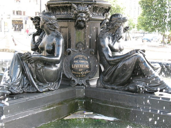 Liverpool water Fountain