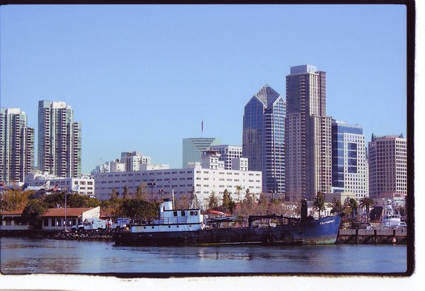 San Diego From The Bay