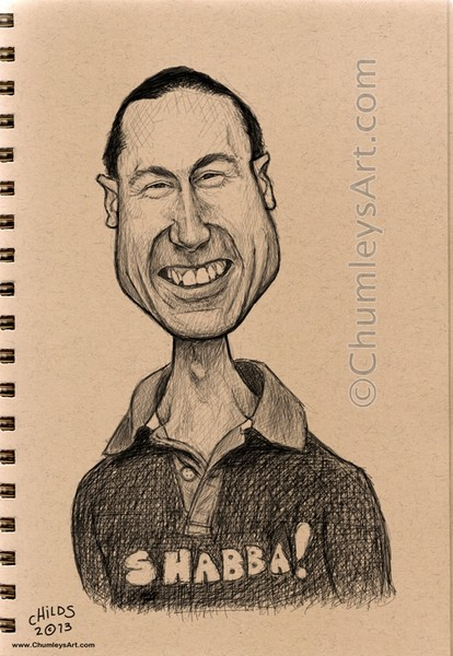 Caricature Practice Sketch - Smithy