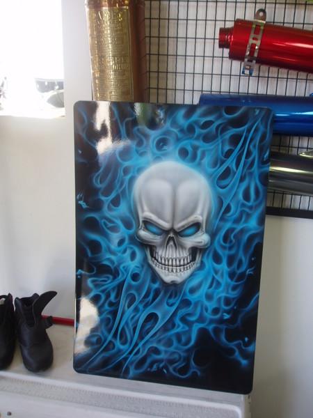 Kandy Blue Skull