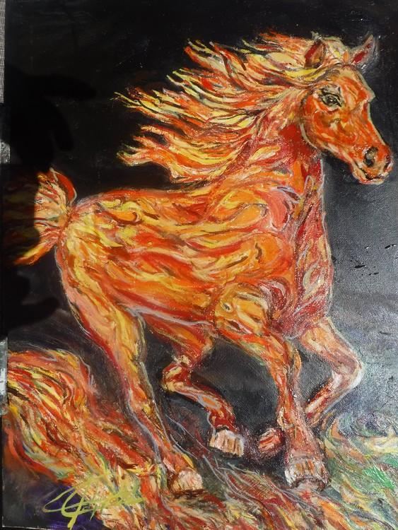 Finished Firehorse