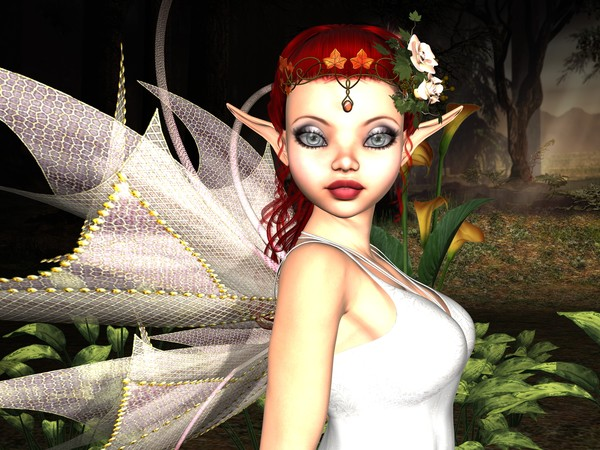 Morning Lily Fairy