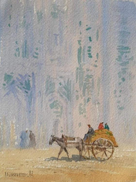 Street scene in Bukhara