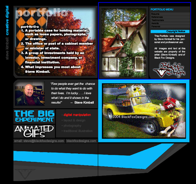 Steve Kimball Portfolio Page