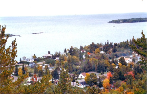 Copper Harbor, a view from the top