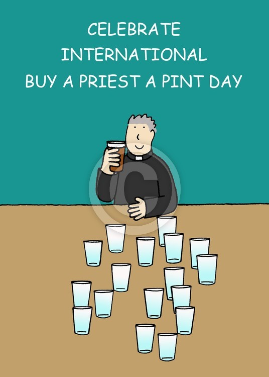 Buy a Priest a Pint Day