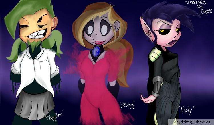 The Ectobeings of DarkWorld 008