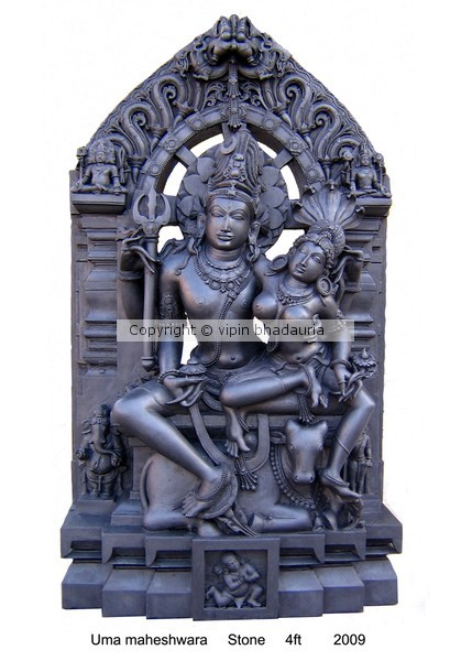 lord shiva with his diety