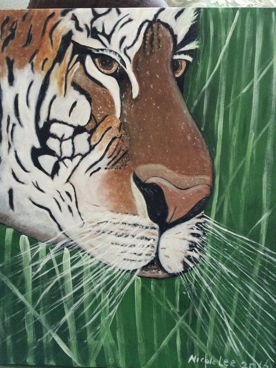 Tiger at Play