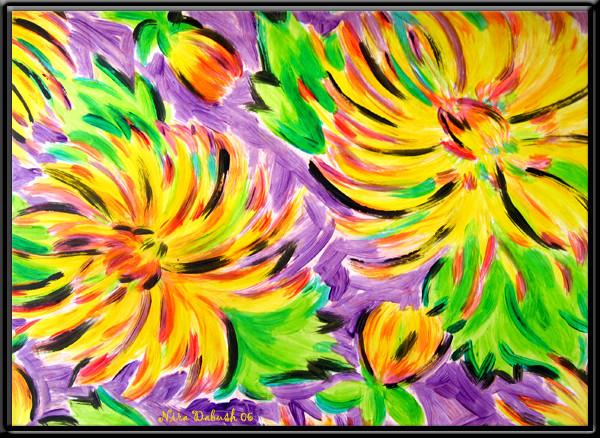 The Power Energy of Summer's Flowers...