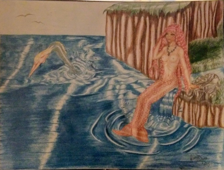 Mermaids through time