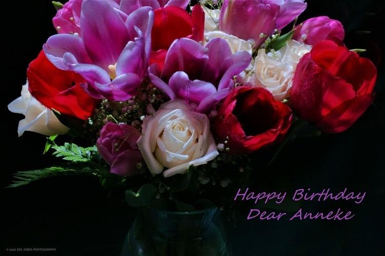 Happy Birthday Anneke!