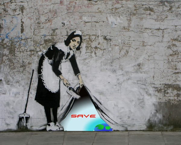 Banksy behing the scenes