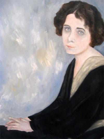Portrait of Margit Kaffka poetess